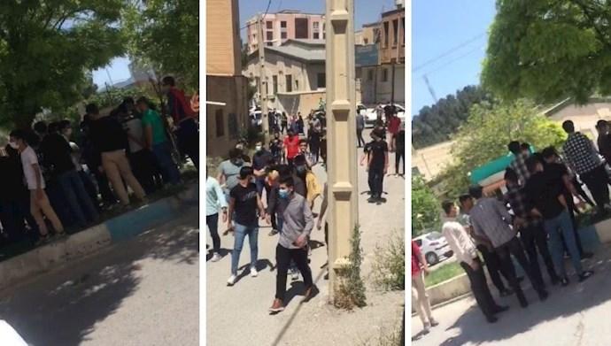 تجمع اعتراضی دانش آموزان