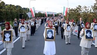 مراسم ۳۰خرداد چهلمین سالگرد مقاومت انقلابی سراسری