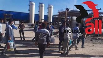 حمایت اتحادیه جهانی صنعت از اعتصاب کارگران پالایشگاههای ایران
