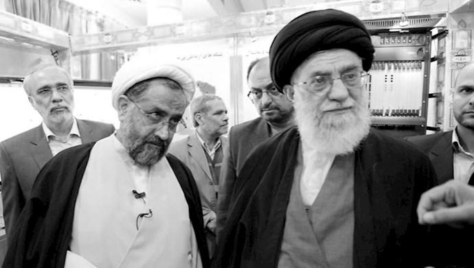 مصلحی وزیر اطلاعات پاسدار  احمدی نژاد - ولی فقیه ارتجاع خامنهای