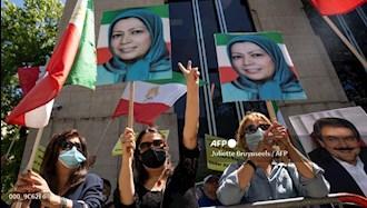 خبرگزاری فرانسه: تظاهرات حامیان شورای ملی مقاومت در بروکسل همزمان با اجلاس سران ناتو