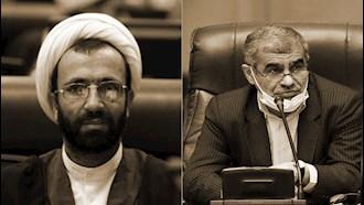 علی نیکزاد  نایب رئیس و - آخوند سلیمی  عضو مجلس ارتجاع