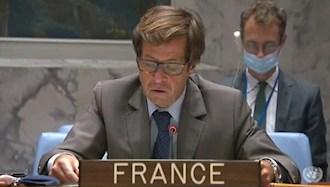 نیکولا دوریویه نماینده فرانسه در شورای امنیت