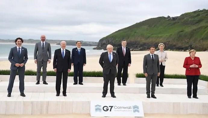 اجلاس سران ۷کشور بزرگ صنعتی جهان در  انگلستان