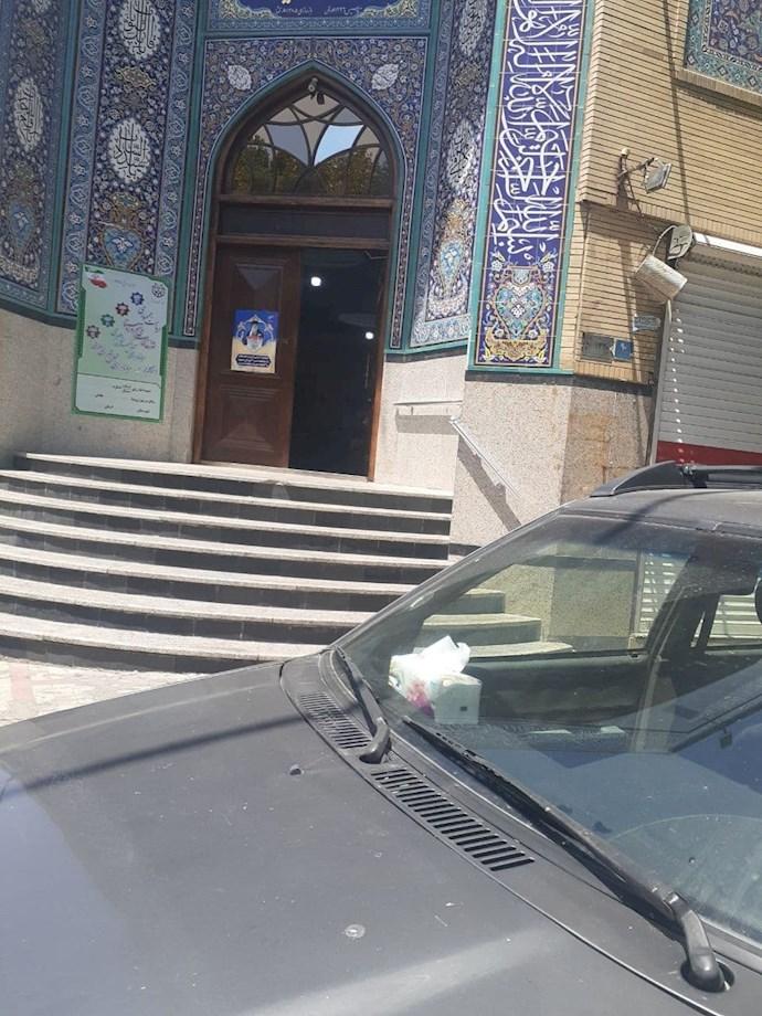 -تهران مسجد فاطمیه. کسادی انتخابات۱۰۱۵