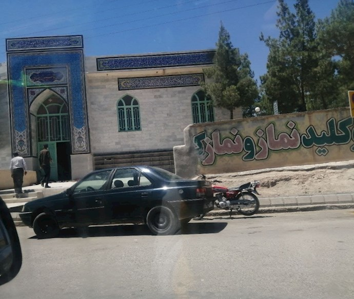 -تربتحیدریه. مسجد حسینیه رضایی. کسادی انتخابات۱۰۰۳