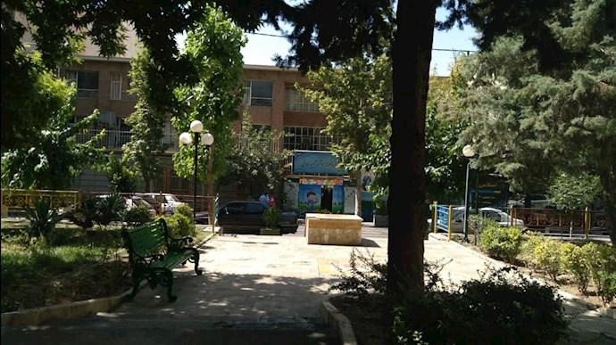 -تهران مدرسه مقابل میدان نیلوفر.