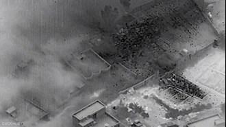 حمله آمریکا  به مواضع سپاه در سوریه