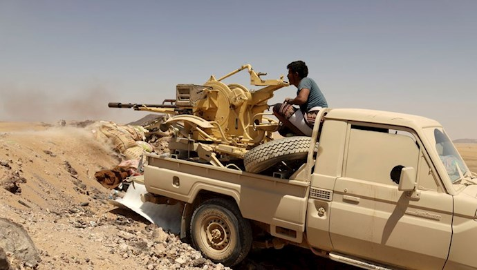 تصویری از نیروهای دولت قانونی یمن