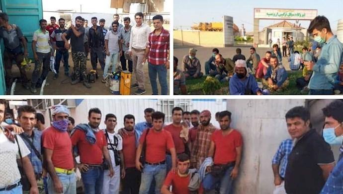 هفتمین روز اعتصاب گسترده کارگران پتروشیمی و صنعت نفت و گاز