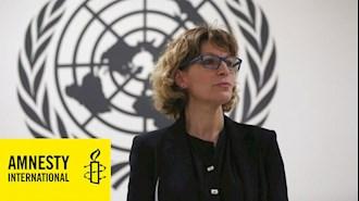 اگنس کالامار، دبیرکل سازمان عفو بینالملل