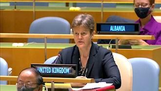 باربارا وودوارد نماینده انگلستان در شورای  امنیت