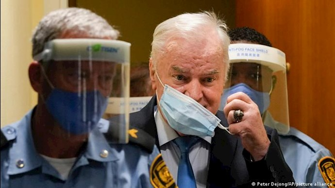 حکم حبس ابد برای راتکو ملادیچ جلاد بوسنی
