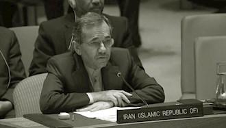 مجید تختروانچی سفیر آخوندها در سازمان ملل