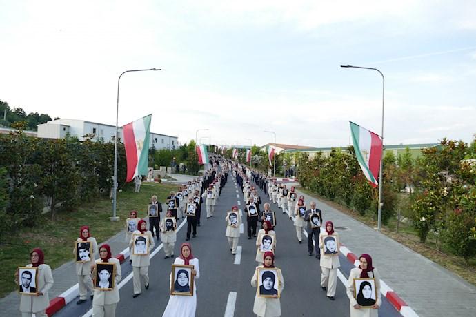مراسم ۳۰خرداد مراسم چهلمین سالگرد مقاومت انقلابی سراسری - روز شهیدان و زندانیان سیاسی - 3