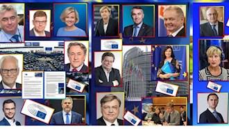 نامهٔ ۲۱نماینده پارلمان اروپا به رئیس کمیسیون و رئیس شورای اتحادیهٔ اروپا