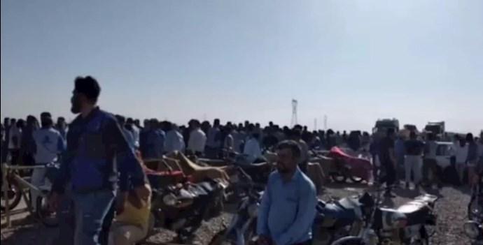 -اعتصاب کارگران بندر ماهشهری