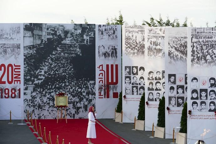 مراسم ۳۰خرداد مراسم چهلمین سالگرد مقاومت انقلابی سراسری - روز شهیدان و زندانیان سیاسی - 4