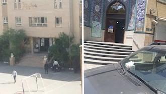 تهران  - کسادی نمایش انتخابات - مسجد فاطمیه و دبیررستان الغدیر - ۲۸خرداد۱۴۰۰