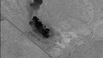 حمله آمریکا به سایت پهپادهای شبهنظامیان وابسته به رژیم ایران