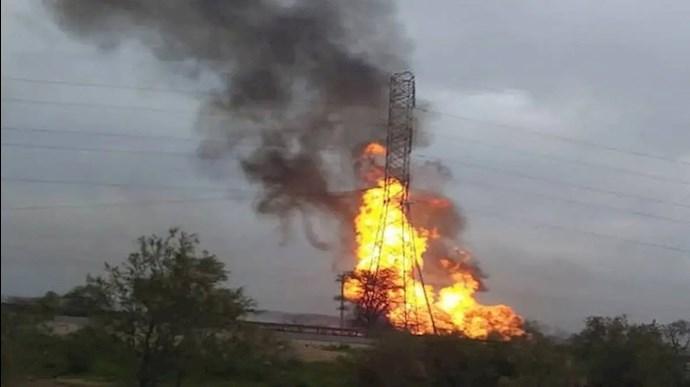 تأسیسات نفتی برومی منطقه غیزانیه اهواز