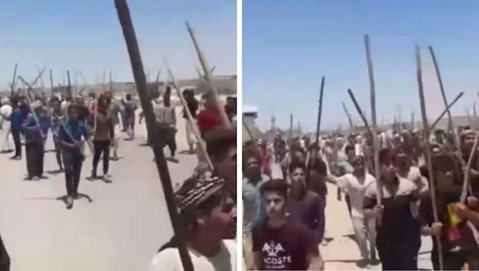اعتراض کشاورزان بخش شاوور خوزستان