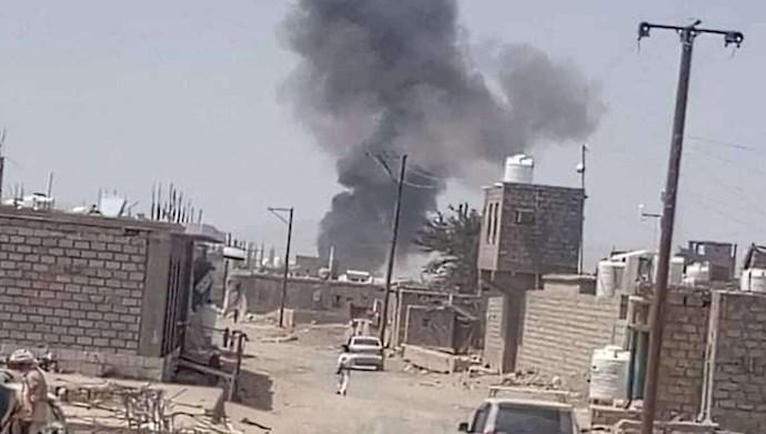 حمله موشکی شبهنظامیان حوثی به مأرب