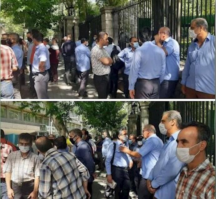 -کارگران شرکت اتوبوسرانی تهران،