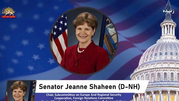 سناتور جین شهین - عضو ارشد کمیتههای روابط خارجی و قوای مسلح