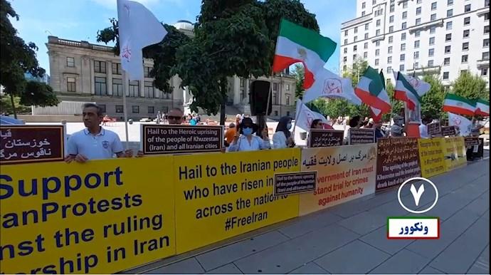 -تظاهرات یاران شورشگر در حمایت از قیام تشنگان خوزستان - 6