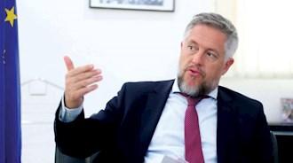پاتریک سیمونت  نماینده اتحادیه اروپا در عربستان سعودی