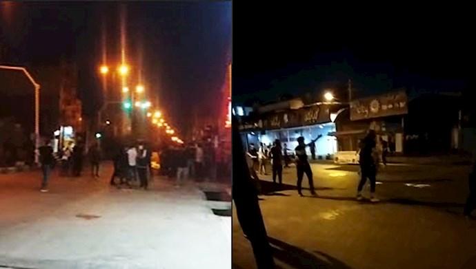 ترس رژیم از خیزش خوزستان
