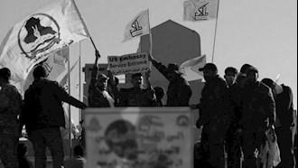 شبه نظامیان حشدالشعبی وابسته به رژیم ایران
