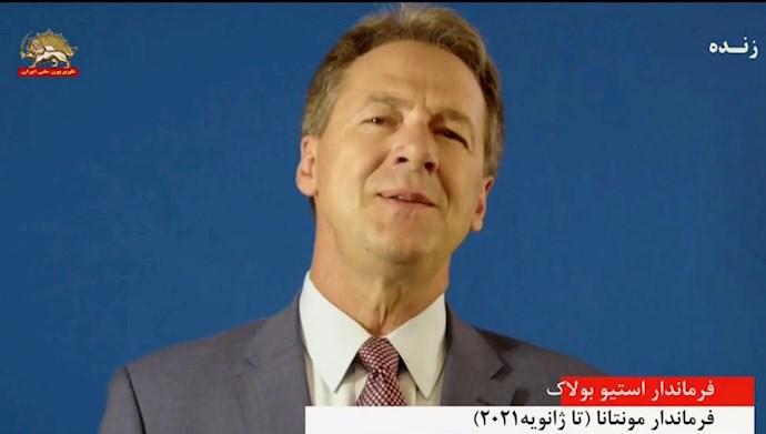 فرماندار استیو بولاک فرماندار مونتانا (تا ژانویه ۲۰۲۱)