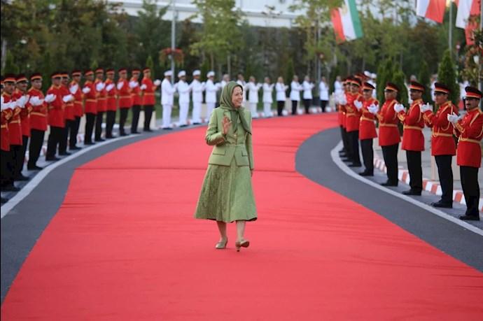 مریم رجوی رئیسجمهور برگزیده مقاومت ایران - گردهمایی جهانی ایران آزاد -۱۹تیر ۱۴۰۰ - 4