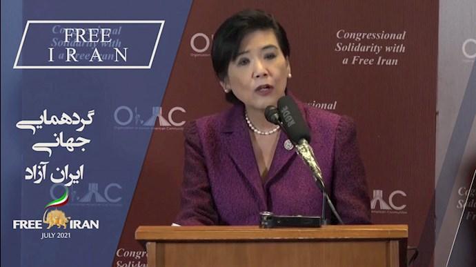 جودی چو عضو کمیته امکانات مالی کنگره آمریکا