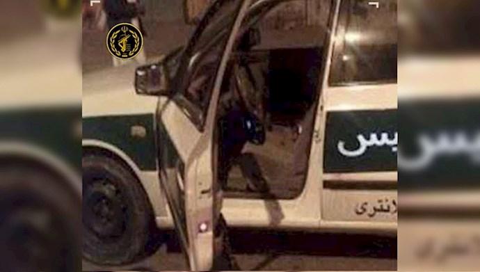کشته شدن یک مامور نیروی سرکوبگر انتظامی در ماهشهر