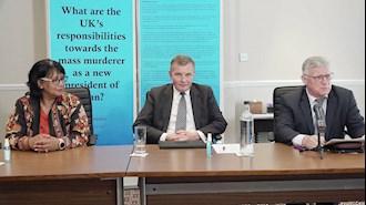 پارلمان انگلستان - کنفرانس برای اعلام بیانیه ۱۰۳تن از نمایندگان هر دو مجلس