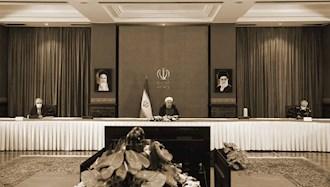 آخوند روحانی در جلسه ستاد حکومتی کرونا
