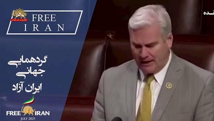 تام امر عضو کمیته مالی کنگره آمریکا