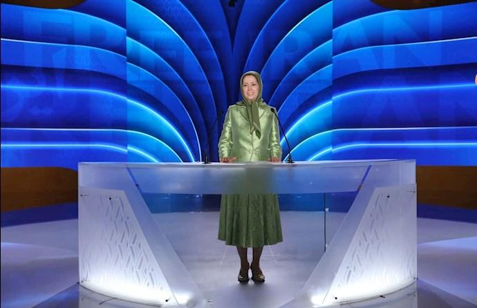 مریم رجوی رئیسجمهور برگزیده مقاومت ایران - گردهمایی جهانی ایران آزاد -۱۹تیر ۱۴۰۰ - 2