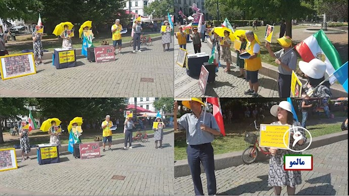 -تظاهرات یاران شورشگر در حمایت از قیام تشنگان خوزستان - 5
