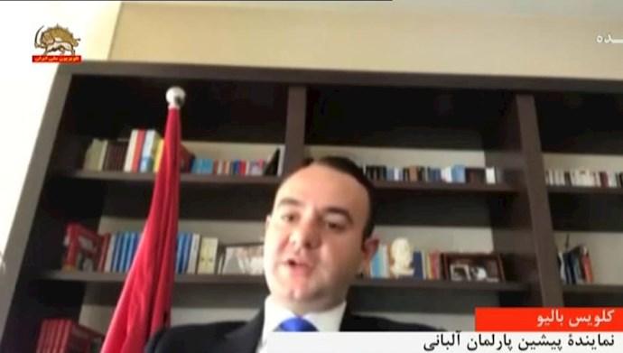 کلویس بالیو نماینده پیشین پارلمان آلبانی