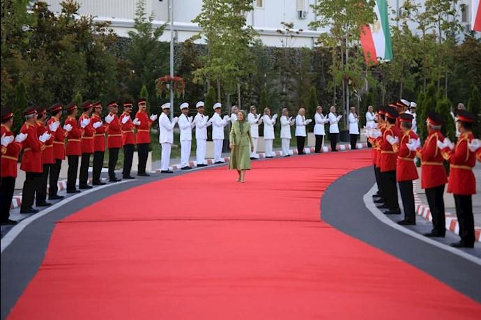 مریم رجوی رئیسجمهور برگزیده مقاومت ایران - گردهمایی جهانی ایران آزاد -۱۹تیر ۱۴۰۰ - 0