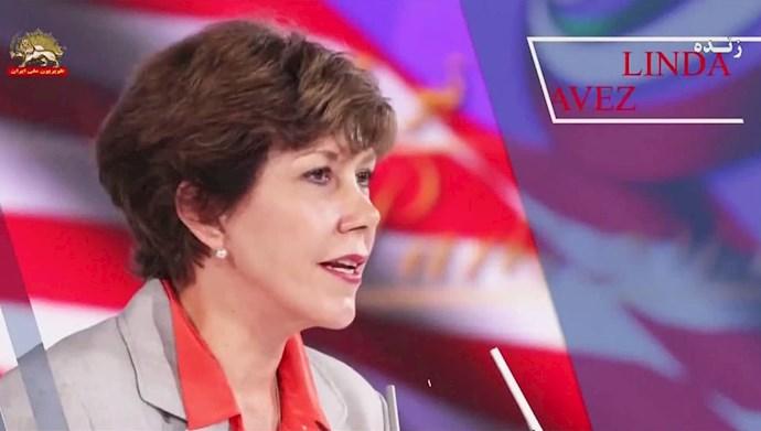 لیندا چاوز مدیر روابط عمومی کاخسفید زمان رونالد ریگان