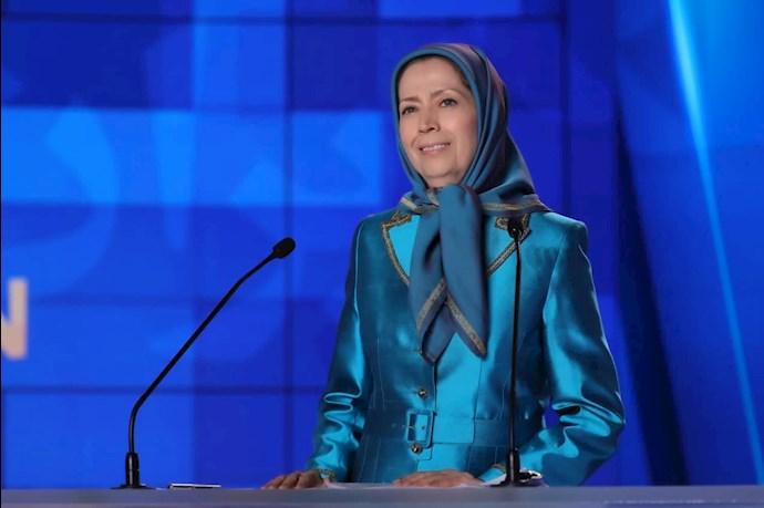 مریم رجوی رئیسجمهور برگزیده مقاومت - دومین روز گردهمایی جهانی ایران آزاد - 0