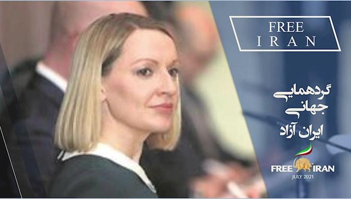 لوسیندا کریتون وزیر امور اروپایی ایرلند (۲۰۱۳)