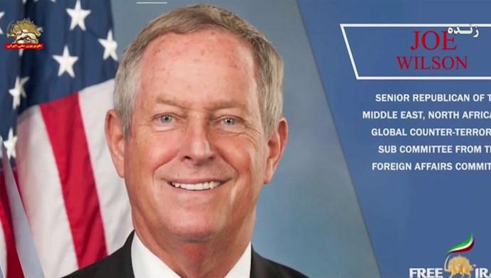 جو ویلسون عضو کمیتههای امور خارجی و قوای مسلح کنگره آمریکا