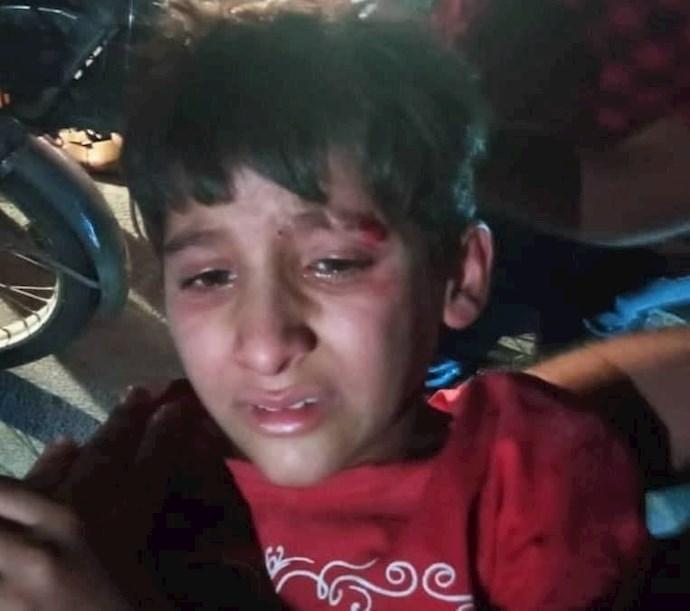 -مجروح شدن یک کودک در تظاهرات اعتراض به بیآبی شهر شادگان