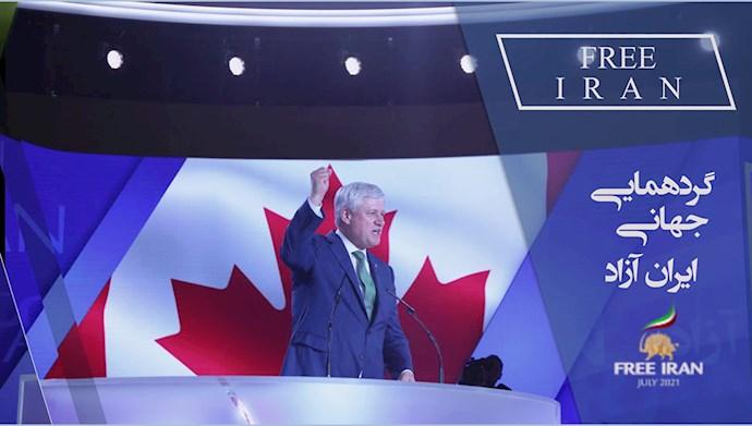 استفان هارپر نخستوزیر سابق کانادا